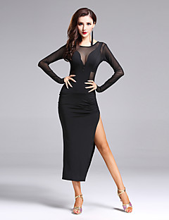 Shall We Latin Dance Dresses Women's Performance Split Front Dress