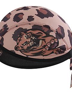 כובע Headsweat כובעים אופנייים נושם ייבוש מהיר עמיד מבודד מגביל חיידקים מפחית שפשופים תומך זיעה רך קרם הגנה לנשים לגברים יוניסקס שוקולד