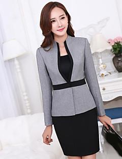 Kadın Diğer Uzun Kol Sonbahar Solid Basit Normal-Kadın Blazer