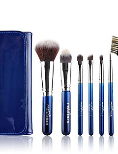 זול סטים של מברשות איפור-7pcs מקצועי מברשות איפור סטי מברשת זיפי מברשת / שיער סינטטי / מברשת שיער עזים מגביל חיידקים / היפואלרגנית עין / 1 * מברשת Eyeshadow / 4 *