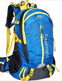 billiga Ryggsäckar och väskor-45L Ryggsäckar / Cykling Ryggsäck / ryggsäck - Vattentät, Andningsfunktion, Stötsäker Camping, Klättring, Fritid Sport Nylon Jade,
