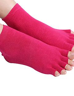 Unisex Prstové ponožky Turistické ponožky Ponožky Protiskluzový Ter Emen pro Jóga