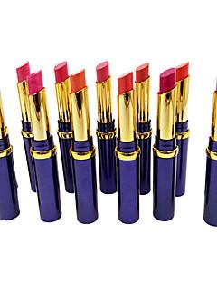 billiga Läppar-Sminkredskap Läppstift 24 pcs Fuktig Färgat glans Smink Kosmetisk Dagligen Skötselprodukter