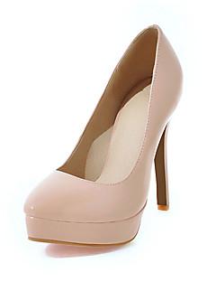 Mujer Zapatos Encaje / Tejido Primavera / Otoño Confort Sandalias Punta abierta Negro / Morado / Almendra / Fiesta y Noche bnAYB