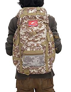 billiga Ryggsäckar och väskor-CHENGXINTU 60 L Ryggsäckar / Rese Duffelväska / Ryggsäck - Vattentät, Regnsäker, Fuktighetsskyddad Utomhus Camping, Skidåkning, Klättring Nylon Khaki grön, djungel kamouflage, digital Desert