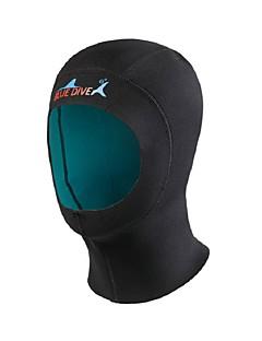 BlueDive® 子供用 男女兼用 1mm ダイビングフード 保温 速乾性 シームレス サンスクリーン ナイロン ネオプレン 潜水服 ダイビングスーツ 帽子-水泳 潜水 サーフィン トライアスロン シュノーケリング