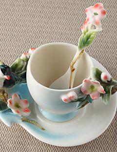 preiswerte Weingläser-Neuheiten bei Tassen und Gläsern Teetassen Weingläser Wasserflaschen Kaffeetassen Tee&Getränke 1 PC Keramik, -  Gute Qualität
