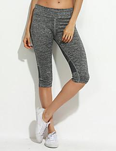 Χαμηλού Κόστους Cropped Pants-Γυναικεία Καθημερινά Αθλητικό Γκέτα - Συμπαγές Χρώμα Μεσαία Μέση