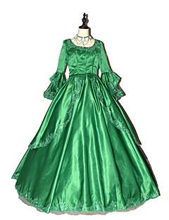 Prinsesse Gudinne Nisse drakter Cosplay Kostumer Kvinnelig Halloween Jul Karneval Nytt År Festival/høytid Halloween-kostymer Ensfarget