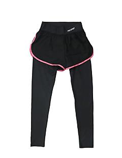 בגדי ריקוד נשים מכנסי ריצה ייבוש מהיר נושם תחתיות ל יוגה כושר גופני ריצה מודלים פוליאסטר צמוד שחור אפור סגול פוקסיה ירוק בהיר S M L XL