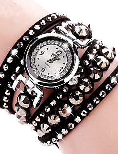 baratos -Mulheres Infantil Relógio Elegante Relógio de Moda Relógio de Pulso Bracele Relógio Simulado Diamante Relógio Quartzo imitação de diamante