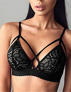 3/4 cup Bras,Wireless Lace