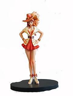 Anime Action Figurer Inspirert av One Piece Nami 17 CM Modell Leker Dukke