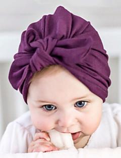 お買い得  子供用アクセサリー-女の子 男の子 帽子&キャップ, コットン ヘアゴム - ホワイト ルビーレッド ピンク グレー パープル