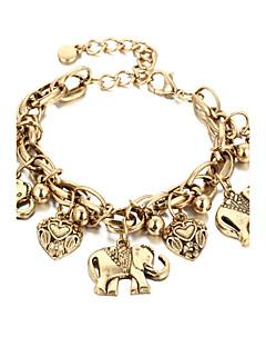 cheap -Heart Chain Bracelet - Fashion Gold Silver Bracelet For Gift