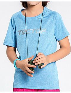 tanie Koszulki turystyczne-Unisex T-shirt turystyczny Na wolnym powietrzu Lekki, Szybkie wysychanie Topy Sport i rekreacja / Elastyczny