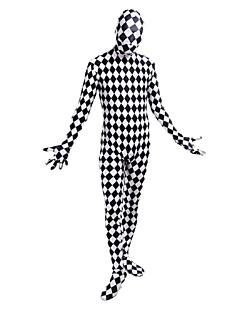 Cosplay Cosplay-Asut Elokuva Cosplay Musta Trikoot/Kokopuku Kissapuku Halloween Karnevaali Spandex Elastaani lycra Lycra Teryleeni