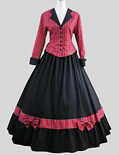 クラシック/伝統的なロリータ ヴィクトリアン 女性用 セット コスプレ 長袖