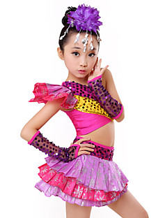 Zullen we jazz outfits kid performance tiers paillettes 4 stuks