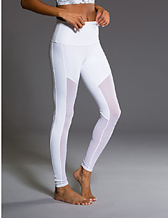 Women's Running Pants Quick Dry Anti-Eradiation Breathable Compression Sweat-wicking Tights Bottoms Yoga Exercise & Fitness Running