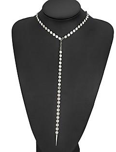 Kadın's Gerdanlıklar Sentetik Pırlanta alaşım Eşsiz Tasarım Bikini Mücevher Uyumluluk Düğün Parti Günlük