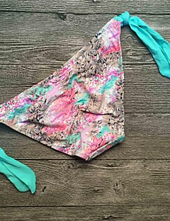 billige Bikinier og damemote-Dame Solid Grime Fuksia Regnbue Marineblå Nederdeler Badetøy - Ensfarget L XL XXL / Sexy