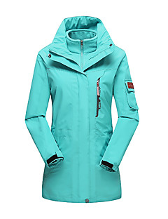 LEIBINDI Dames 3-in-1 jacks Buiten Winter waterdicht Houd Warm Winddicht Stofbestendig Ademend 3-in-1 jacks Winterjack Kleding