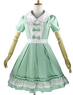 levne -Sweet Lolita Princeznovské Dámské Děti Dívčí Jednodílné Šaty Cosplay Okvětní lístek Krátký rukáv