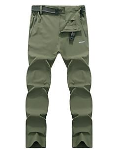tanie Odzież turystyczna-Męskie Turistické kalhoty Na wolnym powietrzu Quick Dry Oddychający Spodnie Camping & Turystyka Wędkarstwo