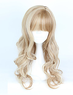cheap Lolita Wigs-Lolita Wigs Sweet Lolita Dress Brown Color Gradient Lolita Wig 70-80 CM Cosplay Wigs Wig For