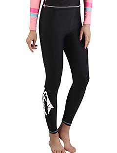 女性用 2mm 軽量素材 滑らか ナイロン 潜水服 ダイビングスーツ-水泳 ビーチ ゼブラプリント