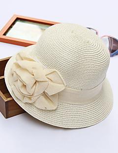 Χαμηλού Κόστους Breezy & Chic Straw Hats-Γυναικεία Χαριτωμένο Πολυεστέρας Τύπου bucket Καπέλο ηλίου