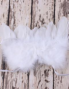 tanie Akcesoria dla dzieci-Komlety salik, czapka i rękawiczki - Dla obu płci - Na każdy sezon - Sztuczne futro Inne Organic Cotton - Opaski na głowę - Clover White