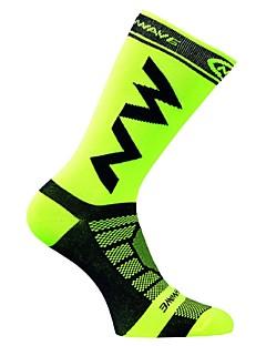 cheap Cycling Socks-Sport Socks / Athletic Socks Bike / Cycling Socks Unisex Camping / Hiking Badminton Basketball Cycling / Bike Running 1 Pair Spring