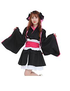 Ternos de Cosplay Vestidos Peça para Cabeça Mais Acessórios Inspirado por Fantasias Fantasias Anime Acessórios para CosplayVestidos Cinto