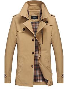 メンズ ジャケット シャツカラー 綿100% 長袖