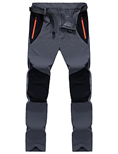Men's Softshell Pants Outdoor Quick Dry Breathable Pants / Trousers Camping / Hiking