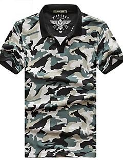 baratos Camisetas para Trilhas-Homens Camiseta de Trilha Ao ar livre Respirável Camiseta Blusas Acampar e Caminhar
