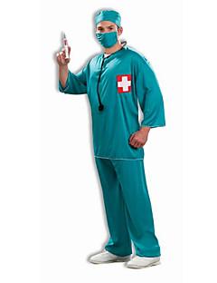 billige Halloweenkostymer-Doktorveske Cosplay Kostumer Herre Dame Halloween Festival / høytid Halloween-kostymer N / A