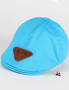 お買い得  子供用ファッション-子供用 帽子&キャップ,コットン100% オールシーズン ブルー ネイビーブルー イエロー カーキ色