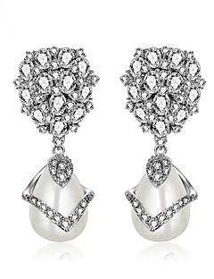 ieftine -Pentru femei Cercei Set Bijuterii Design Unic La modă Euramerican Perle Zirconiu Aliaj Bijuterii Bijuterii Pentru Nuntă Zi de Naștere