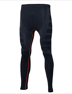billige Løbetøj-Herre Løbetights Fitness, Løb & Yoga, Hurtigtørrende, Udendørs Bukser Afslappet / Træning & Fitness / Fodbold 100% Polyester, Elastin