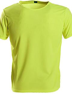お買い得  ハイキングシャツ-男女兼用 ハイキング Tシャツ 速乾性 のために ランニング M L XL
