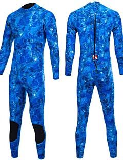 Bluedive Mulheres Homens 3mm Macacão de Mergulho Longo Manter Quente Nailom Neoprene Fato de Mergulho Manga LongaTriatlo Roupas de