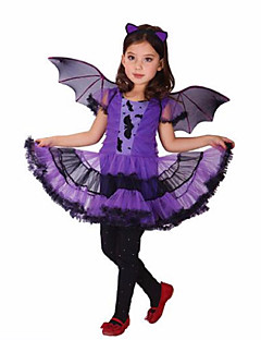 Costumes de Cosplay Pour Halloween Costume de Soirée Bal Masqué Cosplay Cosplay de Film Violet RobeHalloween Noël Carnaval Le Jour des