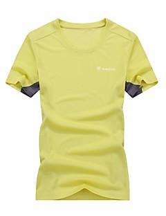 baratos Camisas para Trilhas-Homens Mulheres Camiseta de Trilha Secagem Rápida Respirável Blusas para Correr Futebol Ciclismo Verão L XL XXL XXXL XXXXL