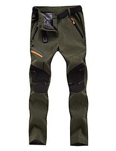 baratos Calças e Shorts para Trilhas-Homens Mulheres Jaqueta de Trilha Ao ar livre Respirável Calças Equitação Pesca Alpinismo Patinação no Gelo