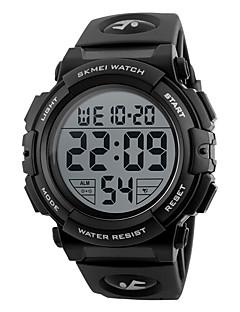 Herre Sportsklokke Selskapsklokke Smartklokke Moteklokke Armbåndsur Unike kreative Watch Kinesisk Digital LCD Glide Regel Kalender
