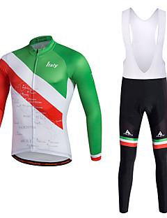 Miloto Sykkeljersey med bib-tights Herre Sykkel Bunner Klessett Polyester 100% Polyester LYCRA® Sykling/Sykkel