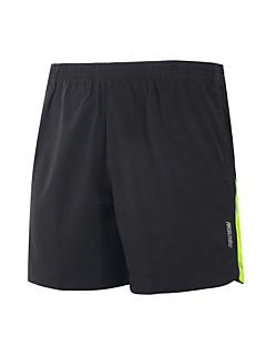 Hardloopshorts Sneldrogend Lichtgewicht materiaal Reflecterende strips Vermindert schuren Short/Broekje Kleding Onderlichaam voor Yoga